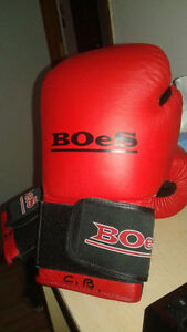 BOeS Boxing heavy bag boxing gloves 14oz L