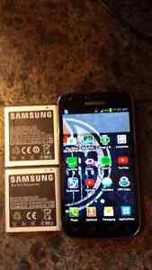 Samsung s2 in new condition with two spare batteries