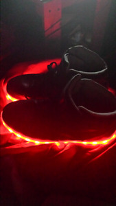 LED Black Shoes