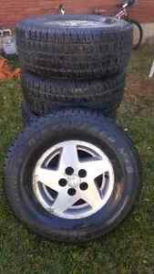Excellent truck tires and rims 265/70 R15