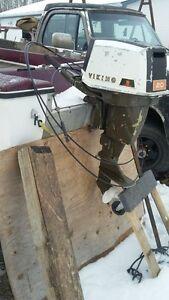 viking 20 hp outboard boat motor 2 stroke