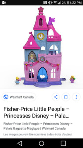 Chateau little people 20$