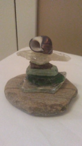 Inuksuk Inspired Art (variety of pieces available) $10 and up