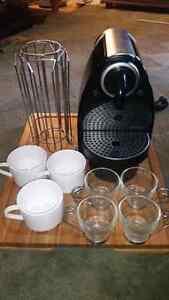 Nespreso personal espresso maker & accessories included