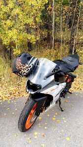 KTM RC390 Low Kms, almost NEW$4500 OBO