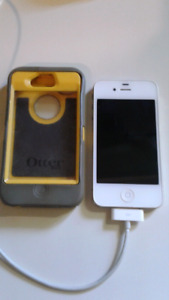 Iphone 4s with otter box