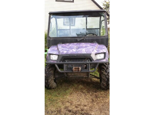 Used 2007 Polaris Ranger 700xp Browning Edition