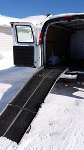 Ramp for van