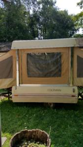 Coleman tent trailer