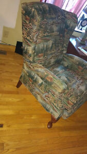 la-z-boy wing chair/ armchair/recliner/chaise bergere Cornwall Ontario image 4