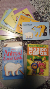 Stencils & Mission Cards - NEW