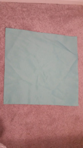 Table napkins baby blue
