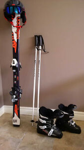 Almost BRAND NEW Junior Ski package