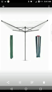 Outdoor clothes line dryer