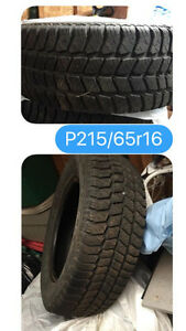 Winter Tires! Like New!