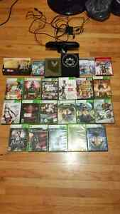 Xbox 360 ps3 and ps vita games with a Xbox kinect for 360
