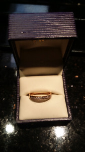 Great Value**Diamonds Promising Ring 14KGold**