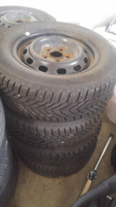 Winter Tires and winter rims 205/65/R15