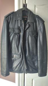 Men's Danier Winter Leather Jacket - L