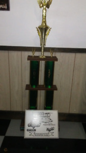 Car Show Trophies, Wall Plaques and Dash Plaques