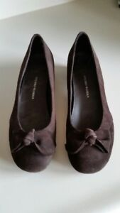 Brown Suede Shoes, size 7.5