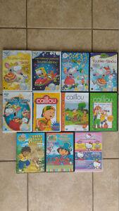 11 DVD pour enfants