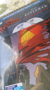 Death of superman NEW - (graphic novel, movie and digital)