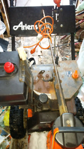 TRADE 2 WORKING GAS SNOWBLOWERS FOR BANDSAW