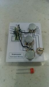 Prewired Stratocaster & Telecaster wiring harnesses