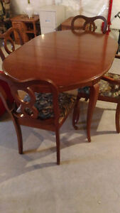 Gibbard Dining Table and Hutch