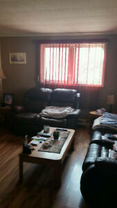recliner set with tables..SOLD