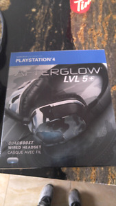 AFTERGLOW LVL 5 PS4 headphones