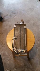 Suzuki DRZ400 radiators.