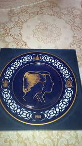 Prince Charles and Lady Diana Spencer Commemorative Plate