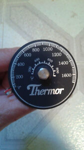 Stove Pipe / Chimney Pipe Thermometer