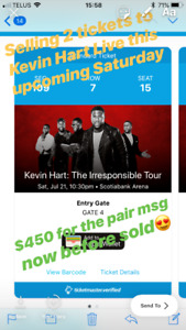 Kevin Hart Live 2 Tickets for Sale - Amazing Seats