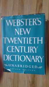 Webster's Dictionary 2nd Ed