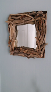 Small rustic mirror