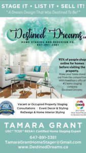 Destined Dreams Home Staging - multi award winning  staging firm