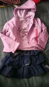 Girls size 4 Calvin Klein outfit