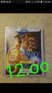 Disney beauty and the beast 12.oo blue ray