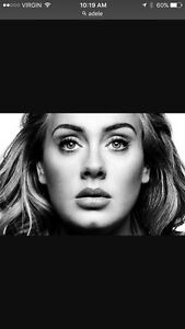 3 tickets to Adele Friday September 30