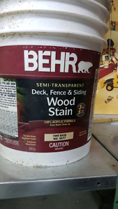 BEHR deck fence & siding Wood Stain Semi-transparent