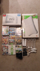 Wii bundle (all includes+many accessories)