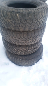 Jeep wrangler tires 255/75/17