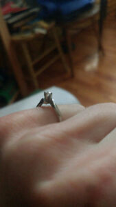 Size 4 diamond ring- excellent condition