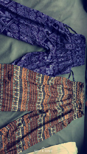 African print trousers( free size)