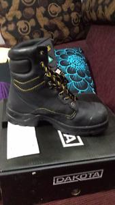 Dakota Mens steel toed work boots