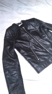 Leather jacket H&M $20 OBO