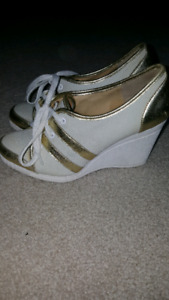 Michael Cors wedge shoes size 7